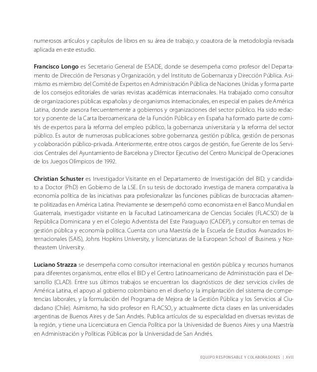 resumen ejecutivo  Juan Carlos Cortázar Velarde y Mariano Lafuente  El mayor activo de las instituciones son las personas ...