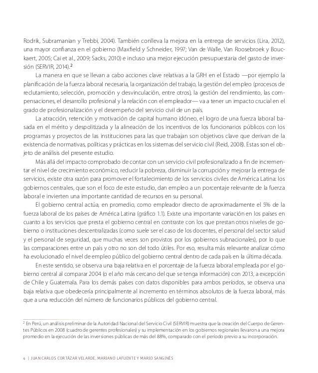 El fortalecimiento del servicio civil como pilar de las instituciones del sector público | 9  Referencias  Acemoglu, D., S...