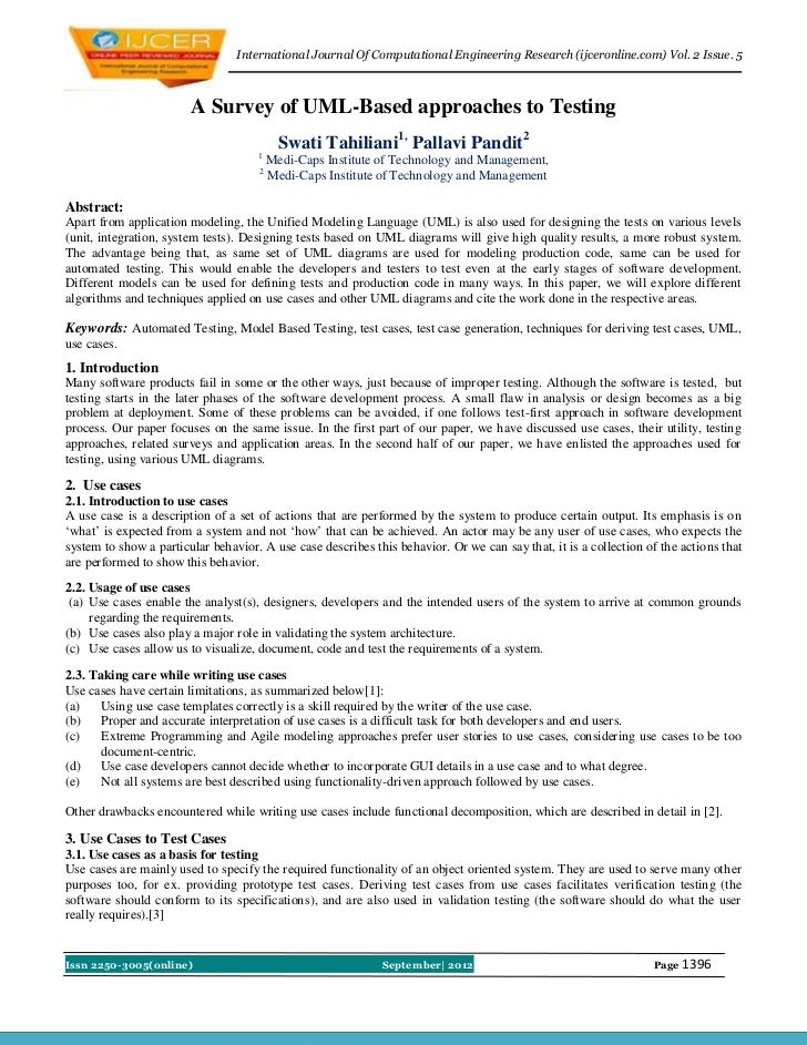 International Journal Of Computational Engineering Research (ijceronline.com) Vol. 2 Issue. 5                        A Sur...