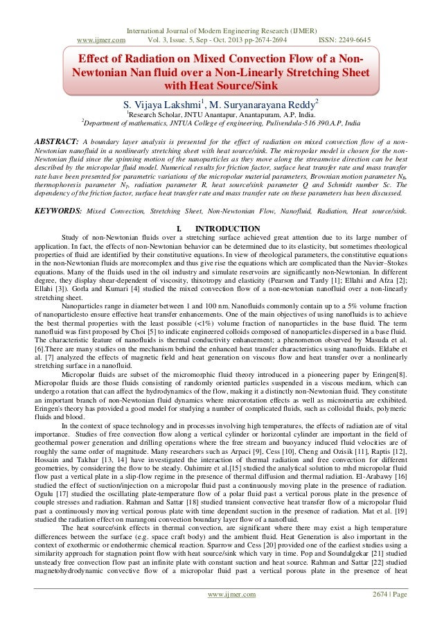 www.ijmer.com  International Journal of Modern Engineering Research (IJMER) Vol. 3, Issue. 5, Sep - Oct. 2013 pp-2674-2694...