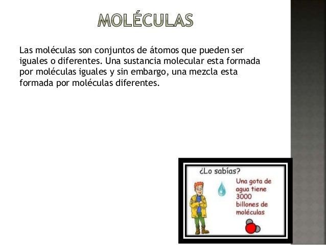 Atomos y moleculas Slide 3