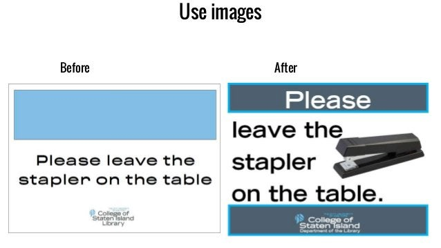 Use images Before After