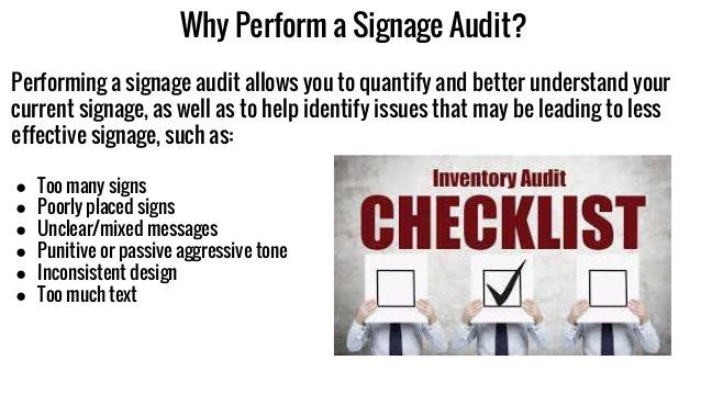 Why Perform a Signage Audit? Performing a signage audit allows you to quantify and better understand your current signage,...