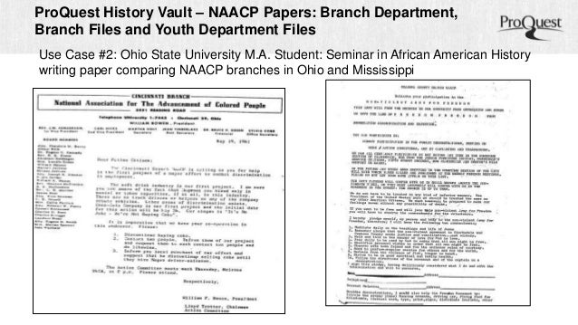 Essays: The National Association for the Advancement of Colored People (NAACP)