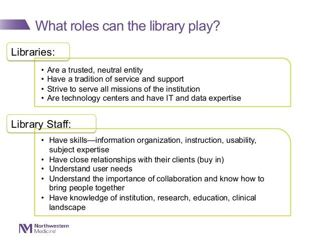 What roles can the library play? Librarians are successfully stepping up to the semantic web plate in a variety of roles r...