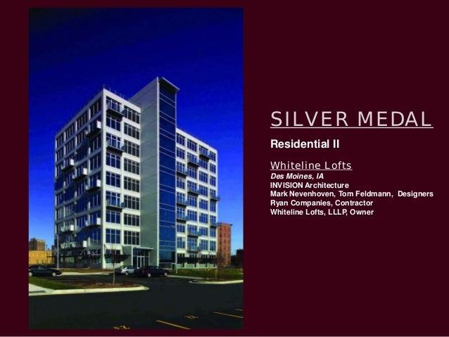 25 Silver Medal Interior Architecture