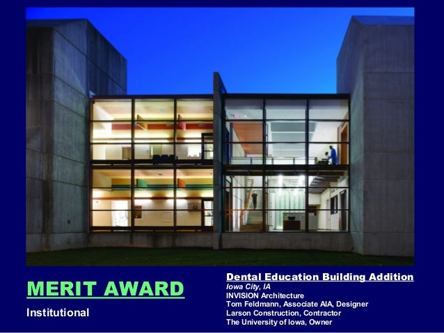 Association Of Licensed Architects 2014 Design Awards