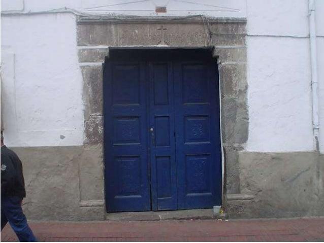 Casa Museo del Alabado.  Quito. Slide 3