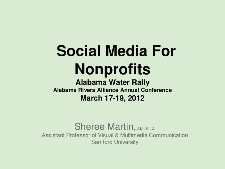 Social Media For       Nonprofits            Alabama Water Rally    Alabama Rivers Alliance Annual Conference             ...