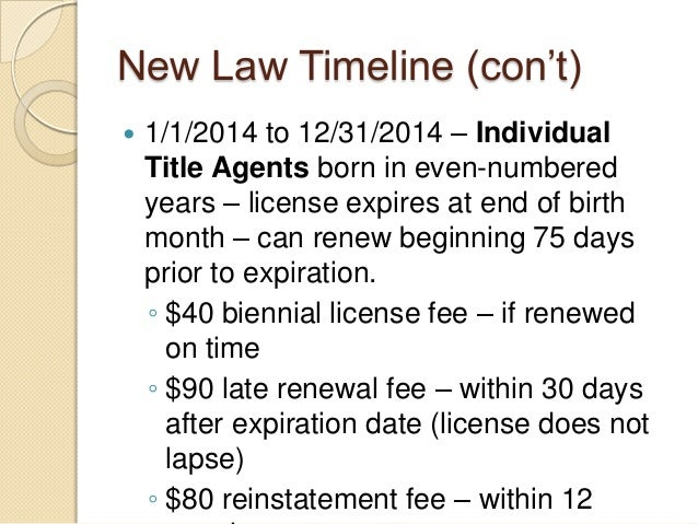 alabama's new title insurance agent licensing law