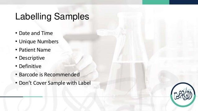 Sample Management In Medical Laboratories  Pclp