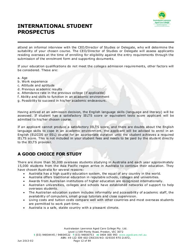 Alacc international student prospectus 12 fandeluxe Choice Image