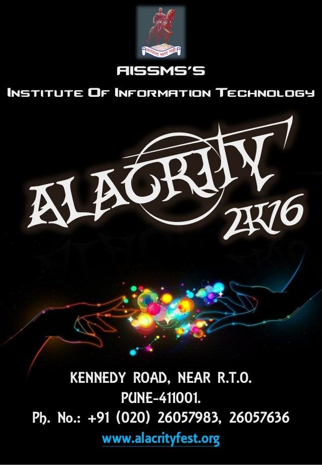Alacrity 2k16 Brochure