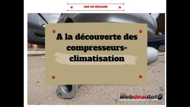 A la découverte des compresseurs climatisation