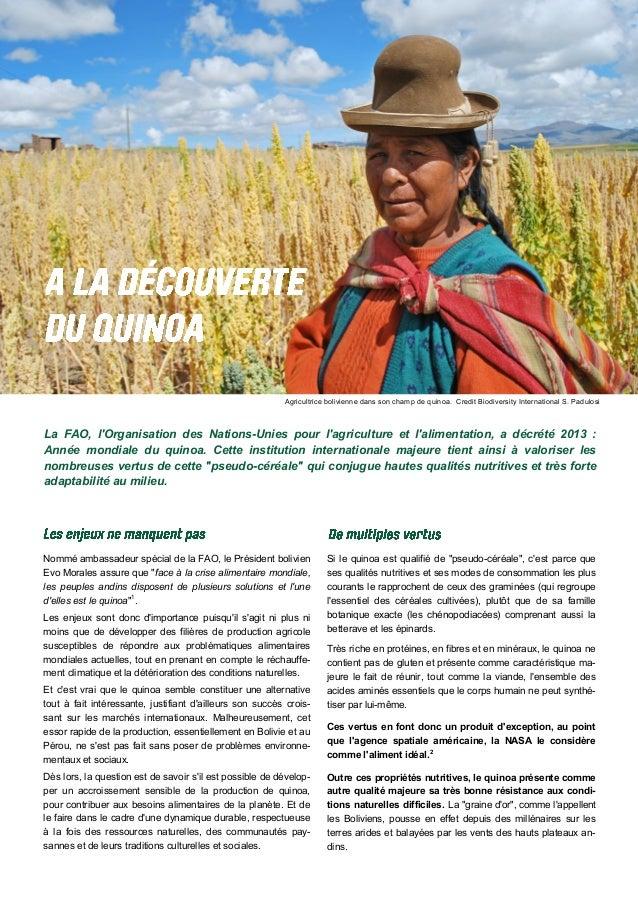 """Nommé ambassadeur spécial de la FAO, le Président bolivien Evo Morales assure que """"face à la crise alimentaire mondiale, l..."""