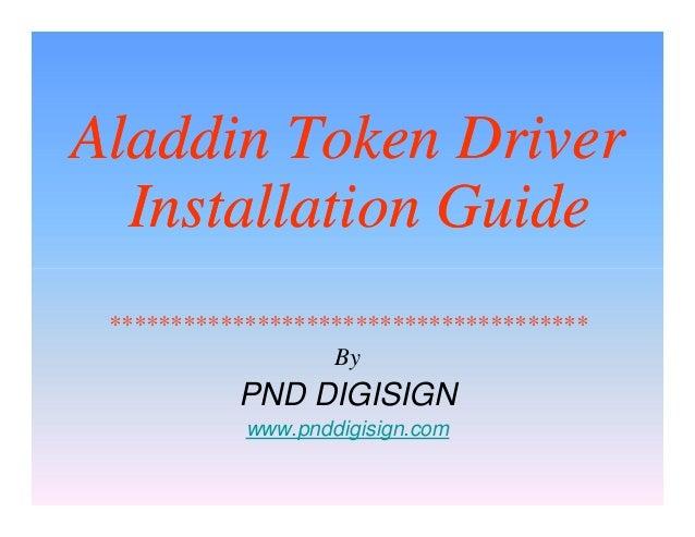 Aladdin etoken 5100 drivers download update aladdin software.
