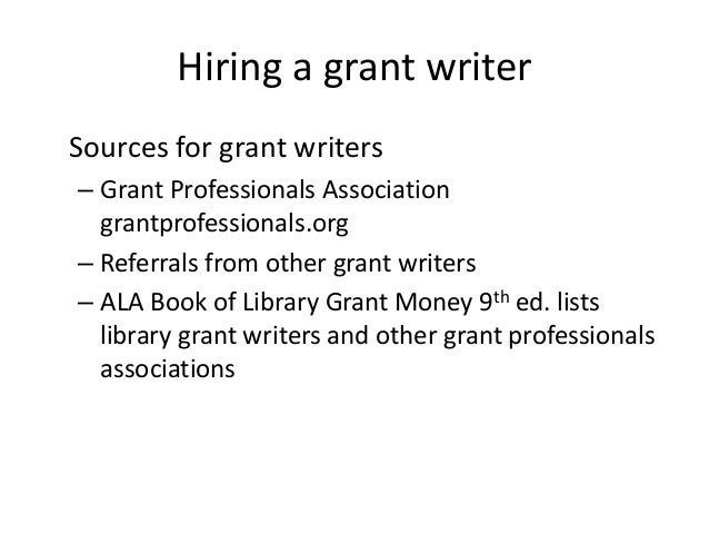 grant writing salary Find telecommuting grant writing jobs that allow telecommuting, part-time, full-time, or freelance contracts every telecommuting grant writing jobs is screened and verified.