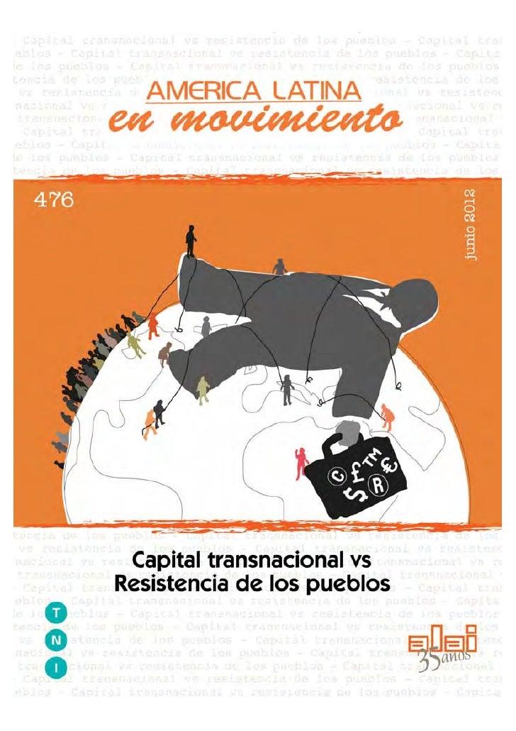 Hacia una respuesta sistémica al                     capital transnacionalizado                                           ...