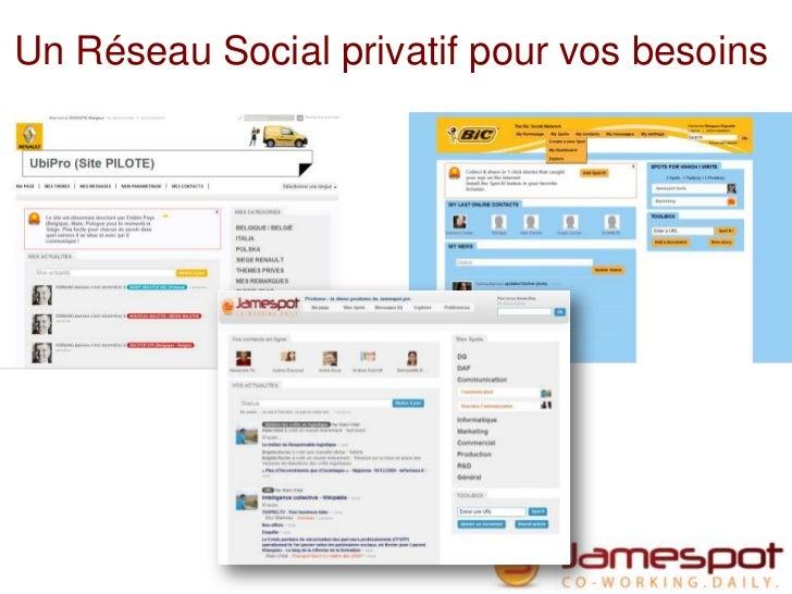 Un Réseau Social privatif pour vos besoins