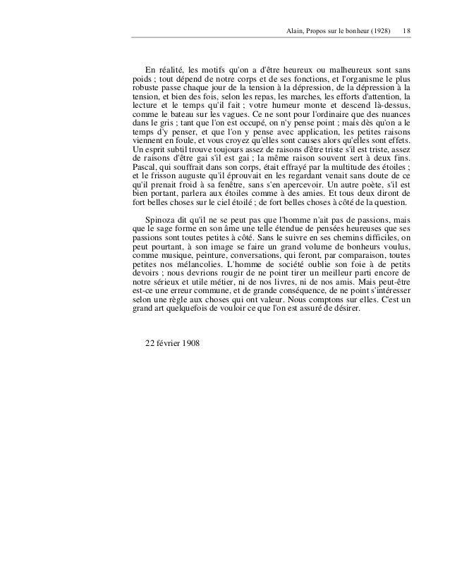 propos sur le bonheur alain pdf