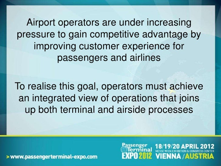Delivering the Next Generation Airport Slide 2