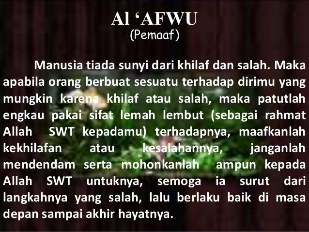 Image result for allah itu pemaaf
