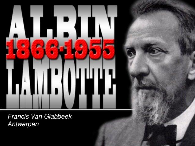 Francis Van GlabbeekAntwerpen