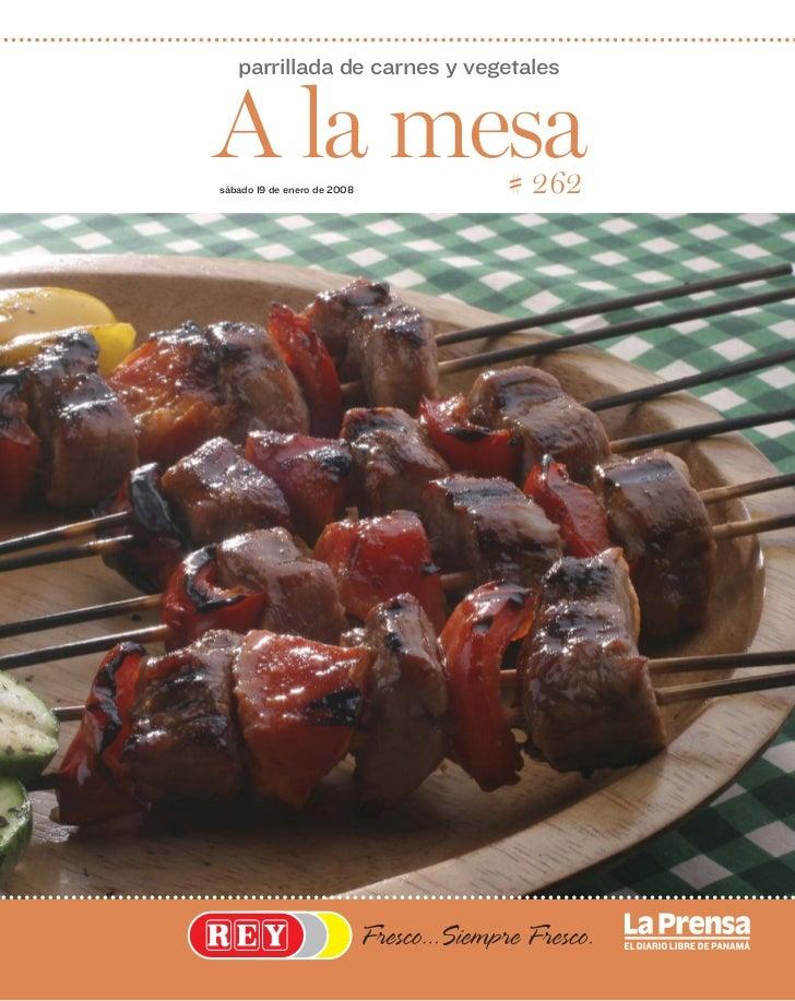 parrillada de carnes y vegetalesA la mesasábado 19 de enero de 2008   # 262