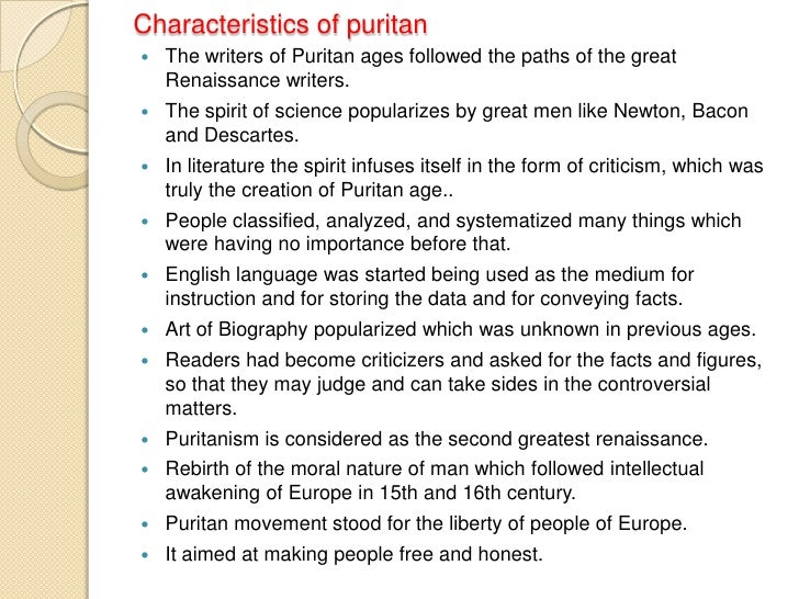 puritan literature essay questions Full glossary for the scarlet letter essay questions cite this literature note critical essays the puritan setting of the scarlet letter.