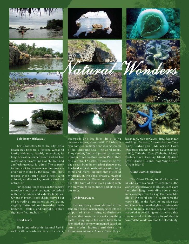 Travel Brochure In Mindanao In Tagalog. Mindanao Tourist ...
