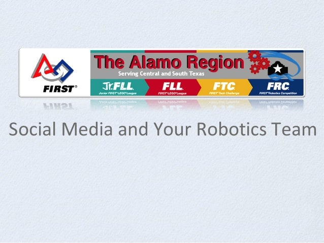 Social Media and Your Robotics Team