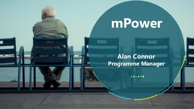 Alan Connor Programme Manager mPower