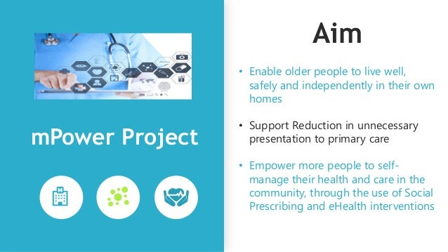 The Vision Connected, Personalised care in your home and local community mPower