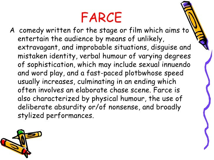 Alan ayckbourn s play for Farcical synonym