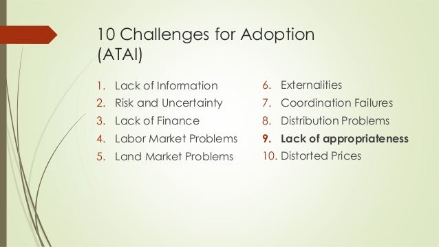 Barriers to Agricultural Technology Adoption in Developing