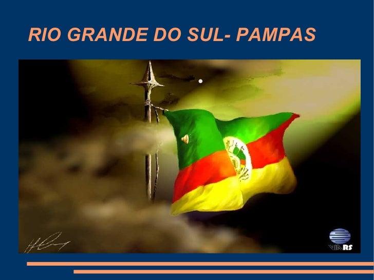 RIO GRANDE DO SUL- PAMPAS