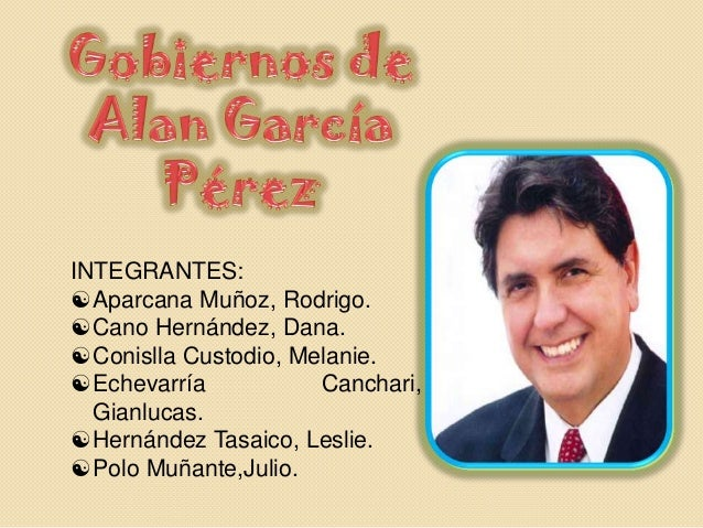 INTEGRANTES: Aparcana Muñoz, Rodrigo. Cano Hernández, Dana. Conislla Custodio, Melanie. Echevarría Canchari, Gianlucas...