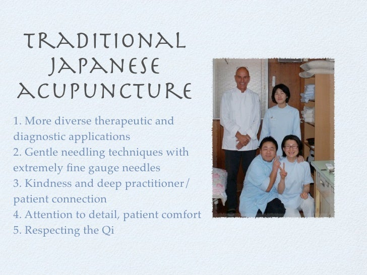 Japanese Acupuncture Benefits - With Alan Jansson