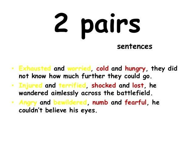 bewilderment in a short sentence