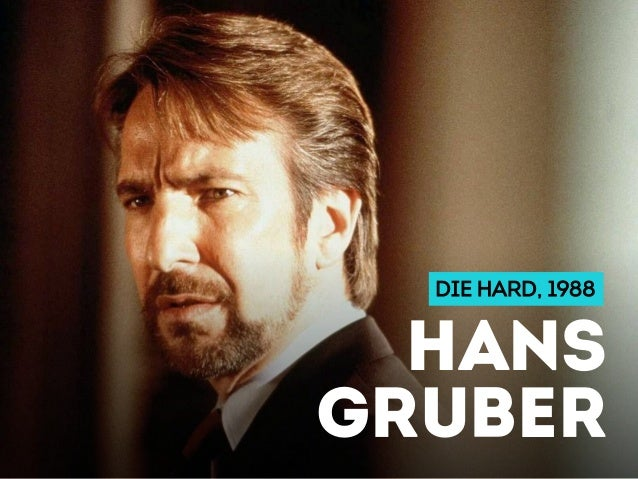 DIE HARD, 1988 HANS GRUBER