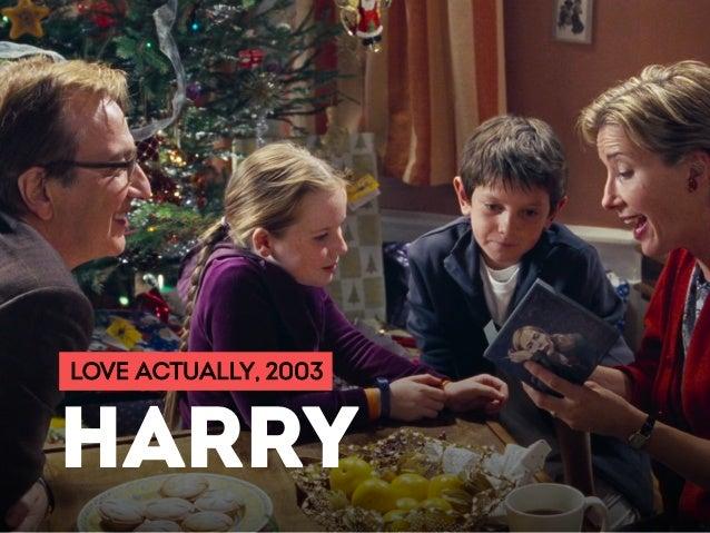 LOVE ACTUALLY, 2003 HARRY