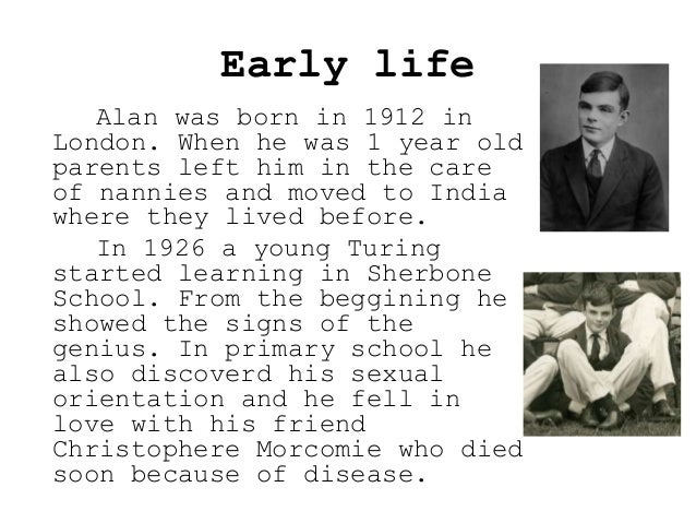 Early life Alan was born in 1912 in London. When he was 1 year old parents left him in the care of nannies and moved to In...