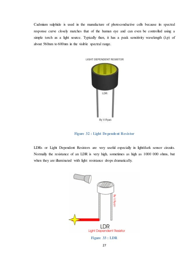 Contemporary Ldr Dark Sensor Vignette - Electrical and Wiring ...
