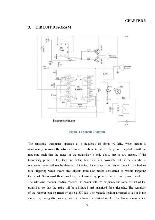 Doorbell Detector Circuit Diagram Block And Schematic Diagrams
