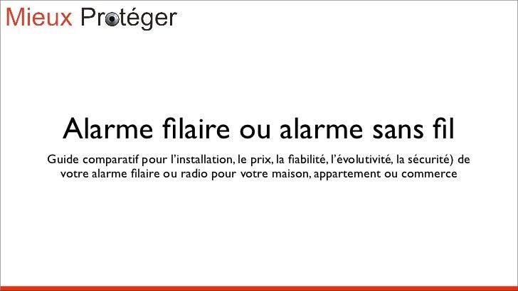 Alarme comparatif alarme with alarme comparatif fabulous - Comparatif alarme maison sans fil ...