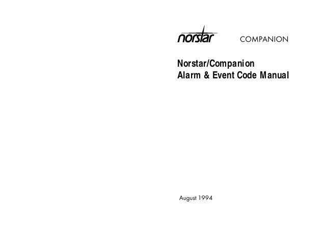 Nortel MICS Alarm event code manual