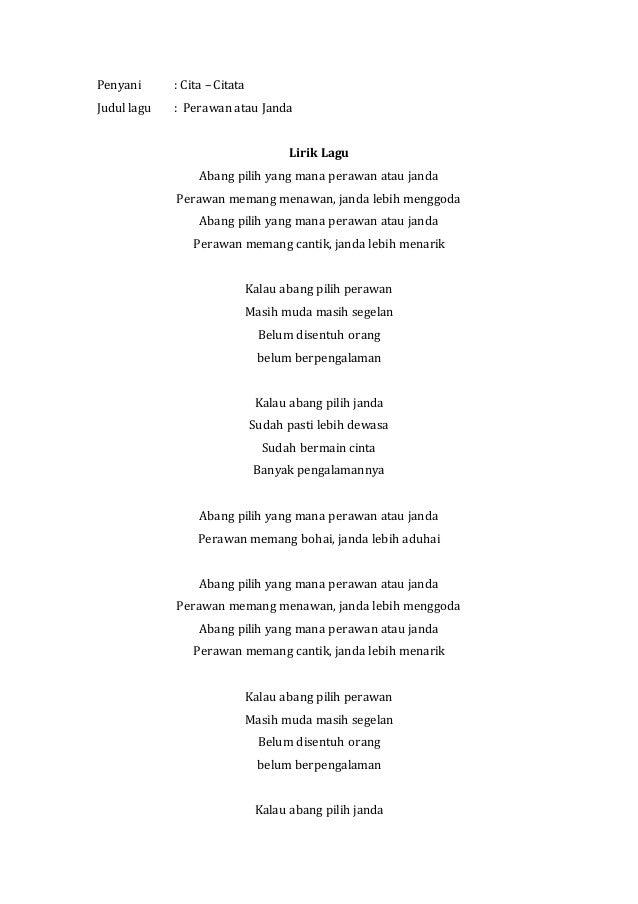 Analisis Lirik Lagu Dangdut Terhadap Perkembangan Anak
