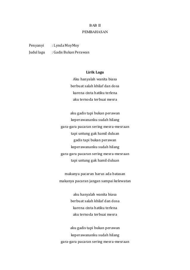 Anak Jaman Sekarang Lirik Lagu Arsia Lirik
