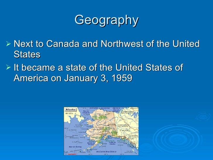Alaska Presentation Slide 2
