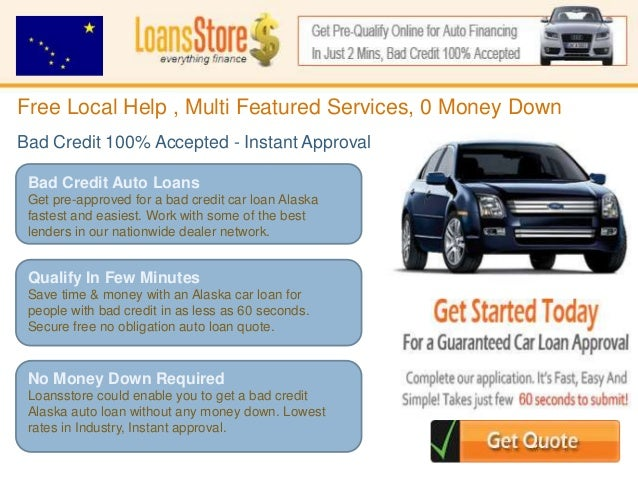 alaska auto loan with bad credit. Black Bedroom Furniture Sets. Home Design Ideas
